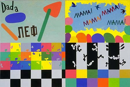Susan Elias   Mama Mama , 2005   acrylic on canvas, 48 x 72 inches