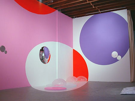 Beatriz Barral   Superaccesspace03 , 2003   installation view at Parker's Box Gallery, NY