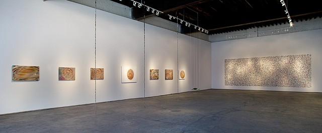 Kathy Goodell   Mesmer Eyes , 2012   Installation, solo exhibition, Causey Contemporary